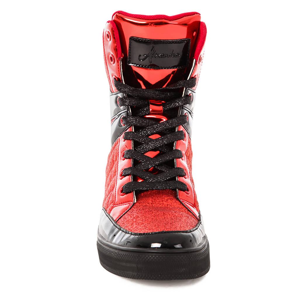 Black Sparkle Hip Hop Shoes