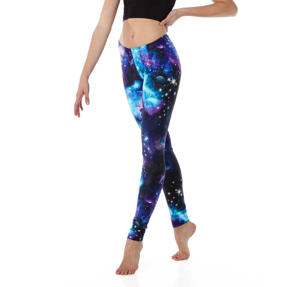 Youth Blue Galaxy Legging : AC5071C