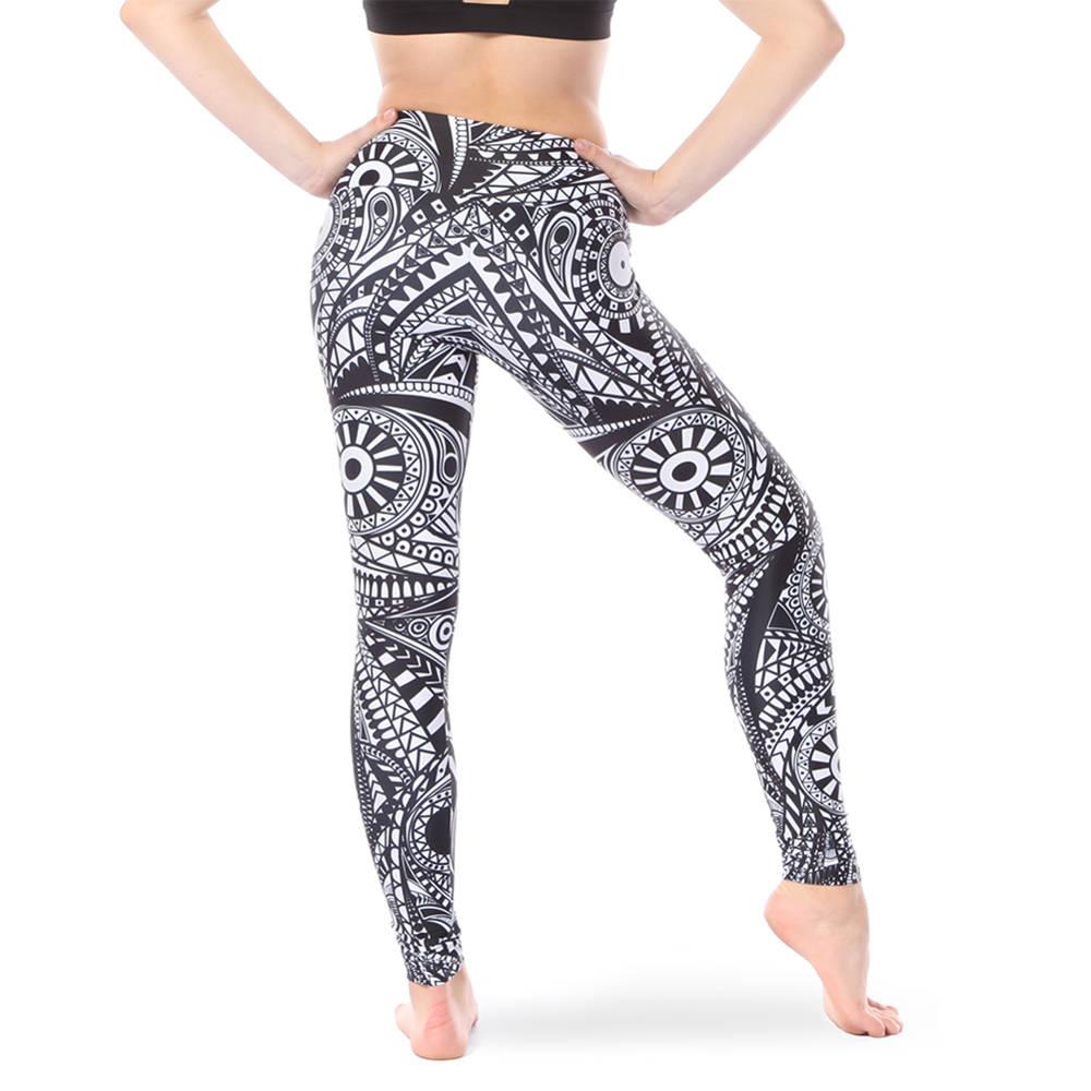 Mandala Mid Rise Leggings Ac5324