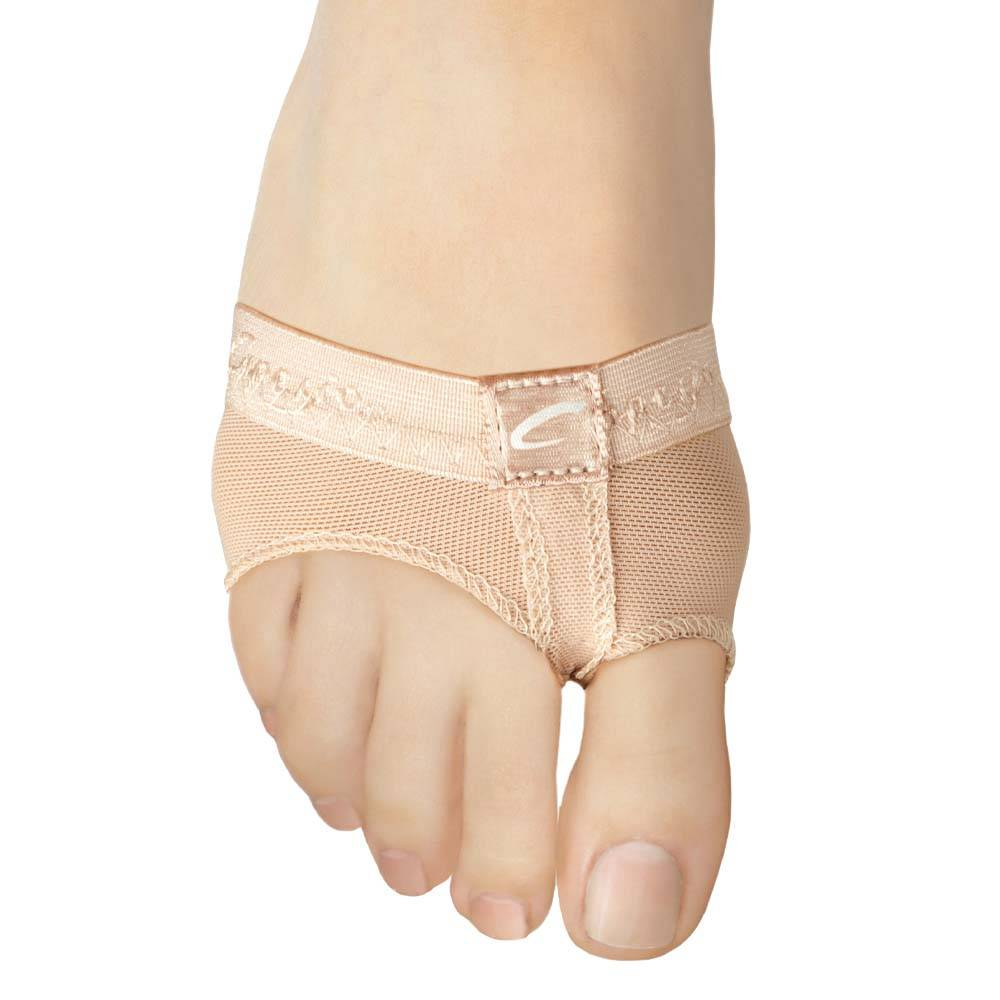 Comfortable Foot Thong Dance Half Shoe Nude for Women for