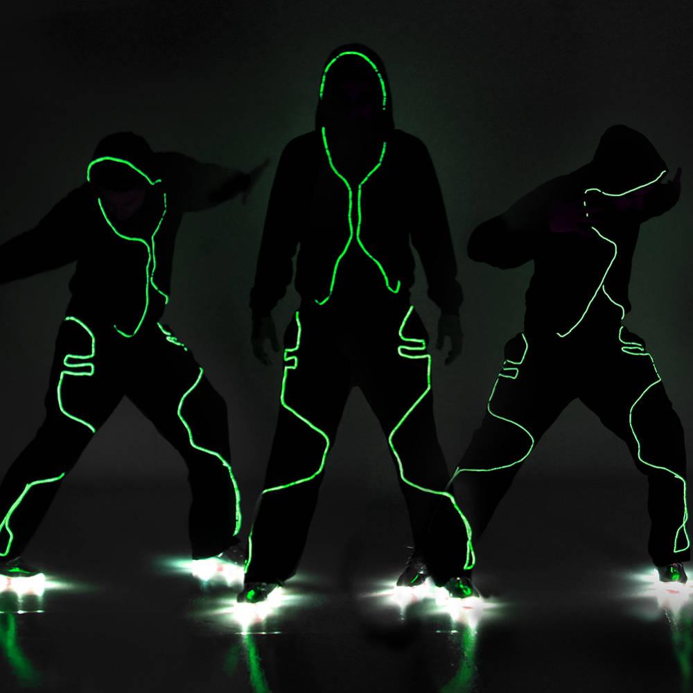Dance Electric Lighted Hoodie De200