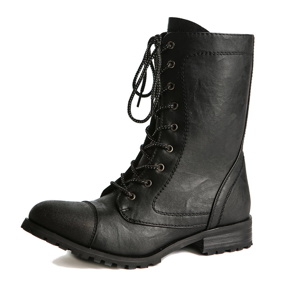 Gia Mia Classic Combat Boot Gs17