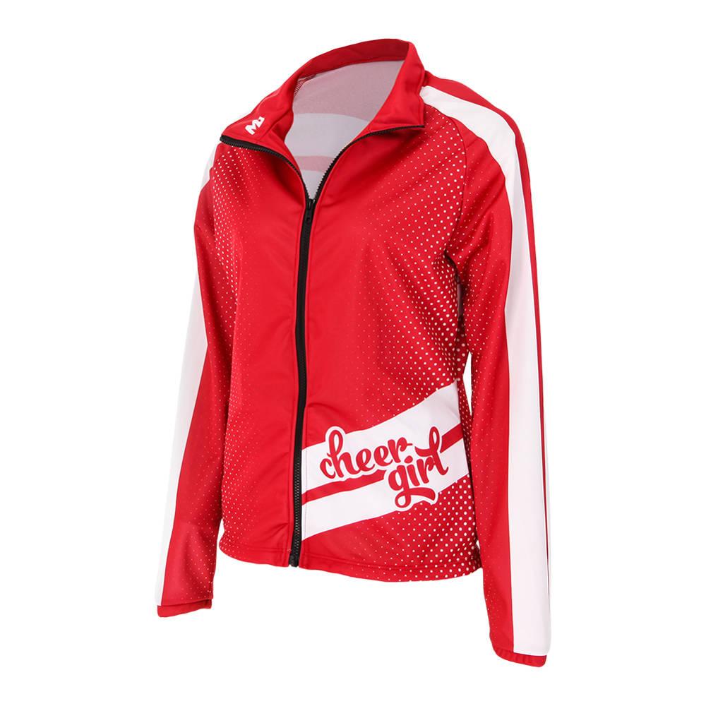 Move U Ladybug Custom Cheer Team Jacket Gp406