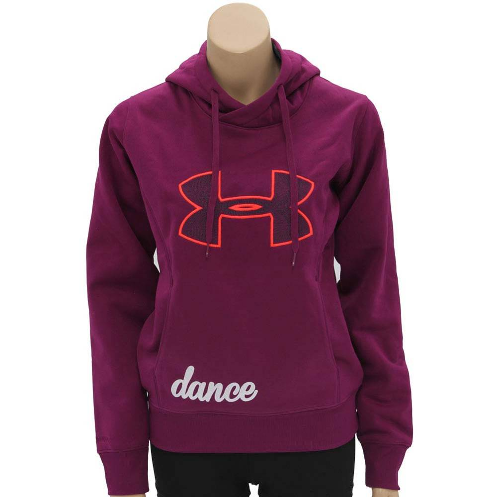 Under armour sweatshirts purple