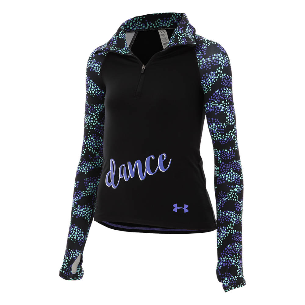 Youth Under Armour Novelty Cold Gear 1 2 Zip Ua2093